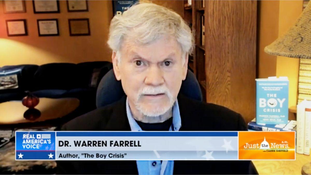 Warren Farrell entretien télévisé sur le livre The Boy Crisis